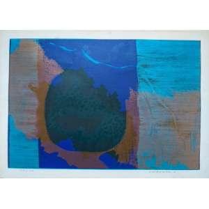 Fayga Ostrwer - Litogravura - assinada e datada de 1974 - Edição 102/110 - Medidas 32 x 46 cm