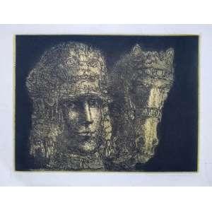 Marcelo Grassmann - Gravura em metal - Sem assinatura - Medidas 30 x 40 cm