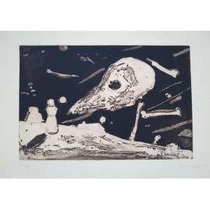 Danie Senise - Gravura em metal - 1995 - 1/100 - Medidas 20 x 30 cm