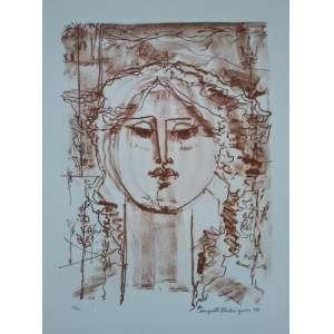 Augusto Rodrigues - 1995 - 34/50 - Medidas 38 x 27 cm