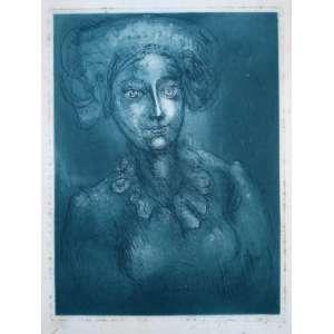 Marcelo Grassmann - Gravura em metal - Edição 10/52 - Acid - Medidas 40 x 31 cm