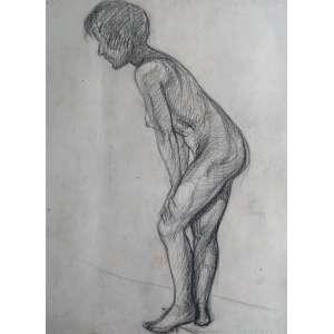 Nú - Crayon - Medidas 58 x 47 cm
