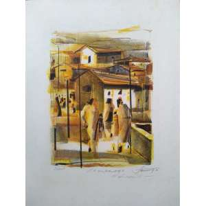 João Rossi - S.P. Urbana 86 - Litogravura PA - Medidas 45 x 35 cm