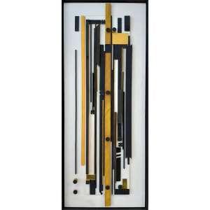Bernardo Mora (BEMGY) - Técnica mista em madeira - Medidas 1,16 x 48 cm