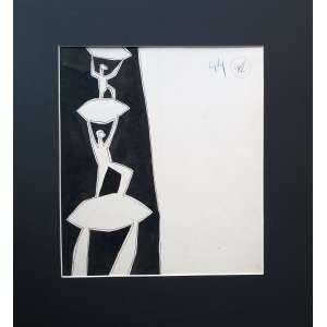 Poty Lazzarotto - Nanquim - Medidas 28 x 25 cm