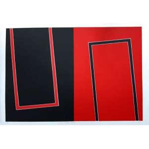 Carlos Muniz - Serigrafia em cores PA - medidas 70 x 98 - Assinado no centro - 2015