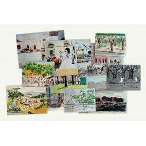 Paul Garfunkel - Imagens do Brasil - 20 litografias aquareladas à mão, assinadas e acompanhadas de um comentário do autor - Edição de 250 exemplares