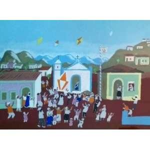Fulvio Pennacchi - Serigrafia - Assinada à lápis no cid - Medidas 65 x 90 cm