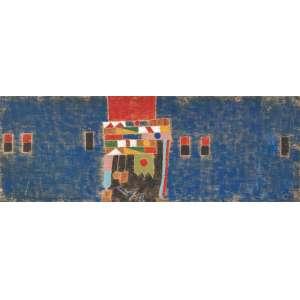 Francisco Galeno - óleo sobre madeira - Medidas 22 x 60 cm - assinado no verso