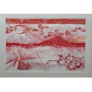 Renina Katz - Prima Luce - Gravura em metal - Edição 39/100 - Medidas 46 x 63 cm