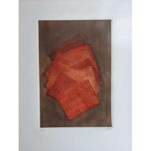 Arthur Piza - Gravura em metal (goiva) - Edição 8/99 - Assinada no cid - Medida da impressão 50 x 30 cm
