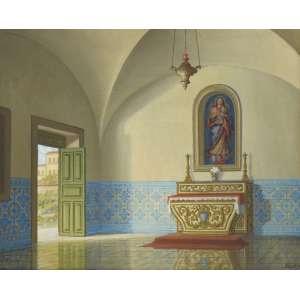 JOSÉ FERREIRA LIMA - Óleo sobre tela - assinado no canto inferior direito - Medidas 46 x 38 cm