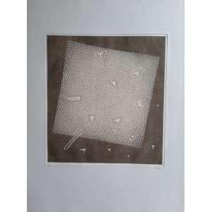 ARTHUR LUIZ PIZA - Fremissement Singulier - Gravura em metal goiva - Edição 9/99 - Medidas 76 x 56 cm (papel) - Medidas da impressão 43 x 39,5 cm - assinado numerado pelo artista - 1991 - perfeito estado