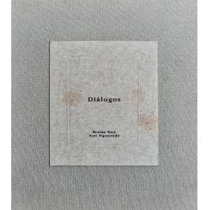 RENINA KATZ e NORI FIGUEIREDO - Álbum Diálogos com 10 gravuras em metal - Editado pela Ymagos 1999 - Medidas 25 x 23 cm - todas assinadas e numeradas
