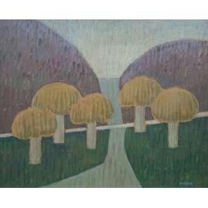 Mario Rubinski - Acrílica sobre madeira industrializada - Medidas 51 x 61 cm