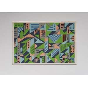 Claudio Tozzi - Serigrafia com edição 89/125 - Medidas da impressão 32 x 46 cm - Medida total 54 x 76 cm - Assinado a lápis pelo artista