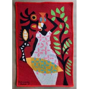 Kennedy Bahia - Tapeçaria - Medidas 100 x 70 cm - assinado no cie