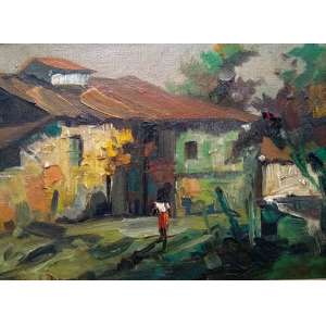 Durval Pereira - Óleo sobre tela - Medidas 15 x 20 cm - Assinado