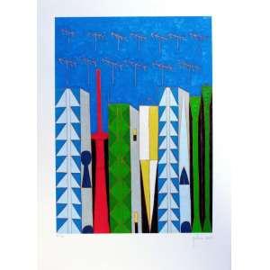 Galeno, Francisco – Gravura assinada , numerada 40/50 e datada de 2013. Medidas 72 x 51 cm
