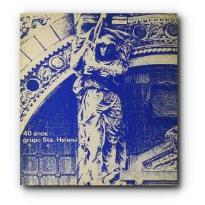 GRUPO SANTA HELENA - Catálogo de exposição / Registro iconográfico do ano de 1975, em comemoração aos 40 anos do grupo.<br />200g; 23x21 cm; 26 págs.<br />