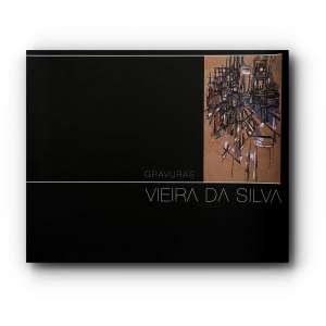 VIEIRA DA SILVA - Livro de uma exposição que aconteceu em 2004 que mostra as gravuras da artista.Muito ilustrado.<br />470g; 25x30 cm; 72 págs.<br /><br />