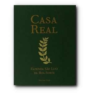 CASA REAL - Catálogo da exposição Mostra CASA REAL, da Fazenda São Luiz da Boa Sorte, Vale do Café.<br />460g; 22x17 cm; 176 págs.<br /><br />