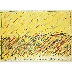 Angelo de Aquino - Gravura em Litografia, intitulada - Quero tudo no meu coração eternamente-, numerada 2/100.Ótimo estado de conservação. Medidas 50 x 70 cm.