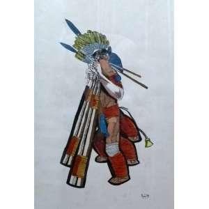 Poty Lazzarotto – Nanquim – Medidas 70 x 50 cm