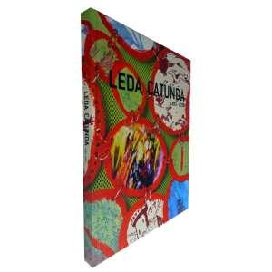 LEDA CATUNDA - Livro da exposição Leda Catunda 1983-2008, a primeira retrospectiva da artista. Amplamente ilustrado. 31x25 cm; 170 págs.; capa dura; português/inglês