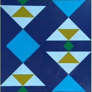 Osmar Chromiec - Sem Título III - OST - Medidas 100 x 100 cm - Assinatura no verso - 1978