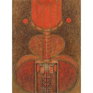 ABRAHAM PALATINIK<br>SEM TÍTULO<br>63 X 47 - PEÇAS DE MADEIRA PINTADAS A ÒLEO E COLADAS SOBRE MADEIRA - 1963 - ASSINADO NO VERSO<br>COM CERTIFICADO EMITIDO PELO PRÓPRIO ARTISTA