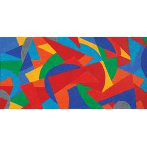 CLAUDIO TOZZI<br>DANÇA - 70 X 1,40 - A.S.T - 2010 - ACID