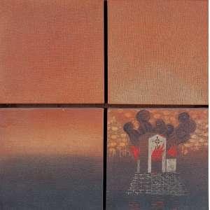 CLAUDINO NOBREGA - 51 X 51 - AST - 2001 - ASS. VERSO - S/ TITULO
