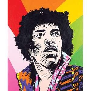 CELAU - 120 X 100 - AST - SD - ACID - Jimi Hendrix