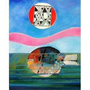 Aldemir Martins - Ast - 100 x 80 - 1990 - Peixe