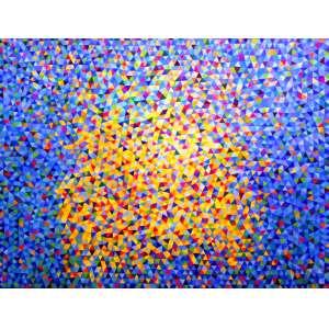 Marysia Portinari - Bright Star - 130 x 100 - óleo sobre tela - ass no verso 2019