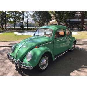 Fusca Alemão - Fusca 1959 - verde jade - estofamento Marrom - motor 1300 - VW alemão