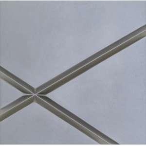 SERVULO ESMERALDO - Diagonal - 50 x 50 x 4 - Metal Esmaltado - Ass.verso - 1987 - Com etiqueta Galeria Raquel Arnaud no verso