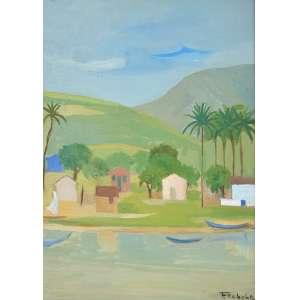 Francisco Rebolo - Paisagem - 46 x 34 - Acid - 1974