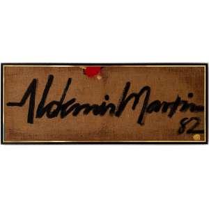 ALDEMIR MARTINS - 40 X 105 CM - ACRILICO SOBRE TELADE CANHAMO - 1982 - ASSINATURA -