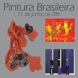 Pintura Brasileira - Leilão de Pinturas, esculturas e gravuras