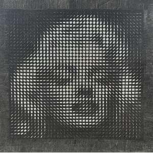 Marcos Marin - Merlyn Monroe - 24/50. Serigrafia sobre tela, 105x105 cm, 2003, A.C.I.D. e V<br />
