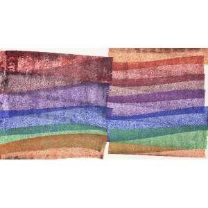 Cukier - Rendas de caminho. Acrílica sobre tela, 70x130 cm, 2015, A.V<br />