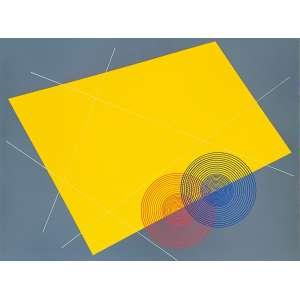 Cukier - Composição VII. Acrílica sobre tela, 60x80 cm, 2019, A.V. <br />