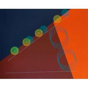 Cukier - Composição. Acrílica sobre tela, 80x100 cm, 2019, A.V. Sem moldura