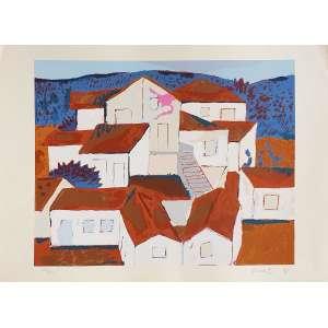 Fang - Casarios - 108-180. Serigrafia, 48x66 cm, 1996, A.C.I.D. Sem moldura