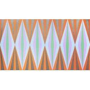 Cukier - Série Balões Nro 2. Acrílica sobre tela, 70x120 cm, 2012, A.V. Sem moldura
