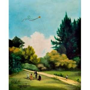 Darcy Penteado - Recanto no alto da Cantareira - Série Sombras da infância. Óleo sobre tela, 50x40 cm, 1987, A.C.I.D e V. Com moldura