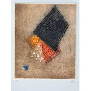 Arthur Luiz Piza - Crescendo du noir III - 30-99. Gravura em metal, 45,5x31,5 cm, 2008, A.C.I.D. Sem moldura