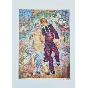 Juarez Machado - Casamento - 40-100. Fineart, 70x50 cm, sem data, A.C.I.D. Sem moldura